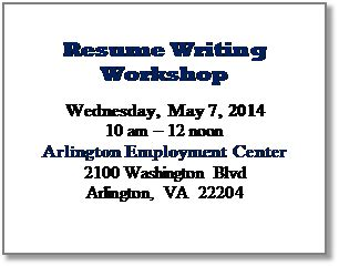 Employment BOOST Resume Writers